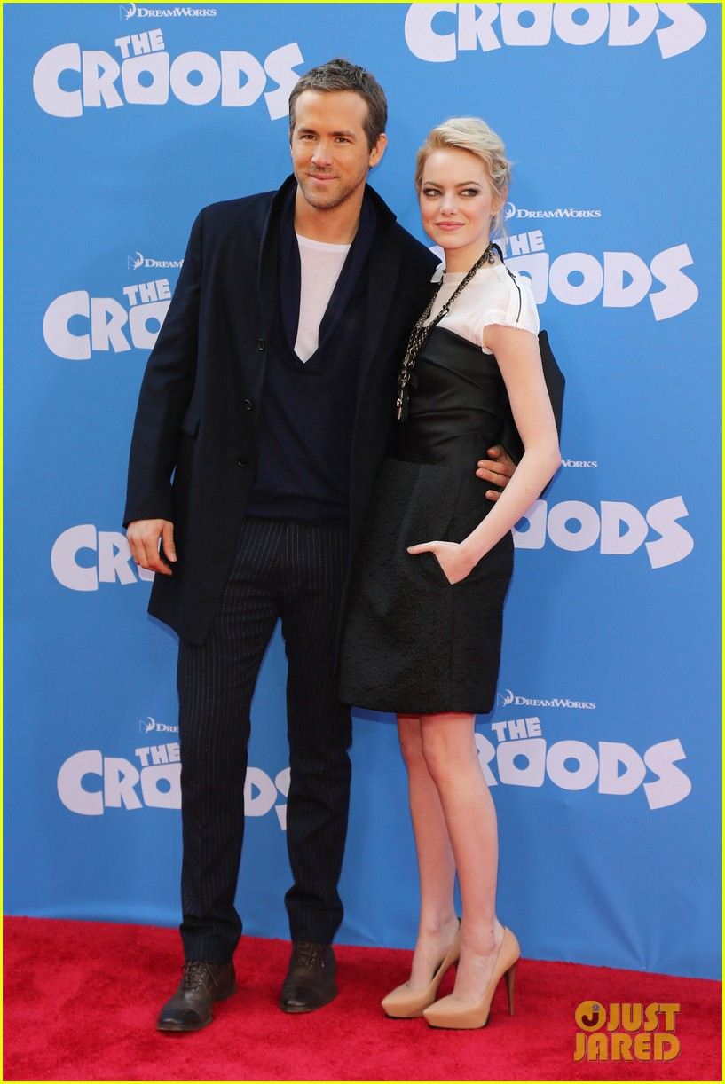 emma stone the croods premeire 052828309
