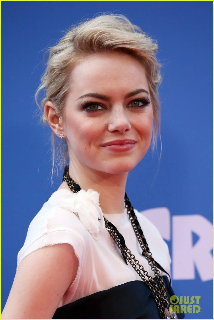 emma stone the croods premeire 062828310