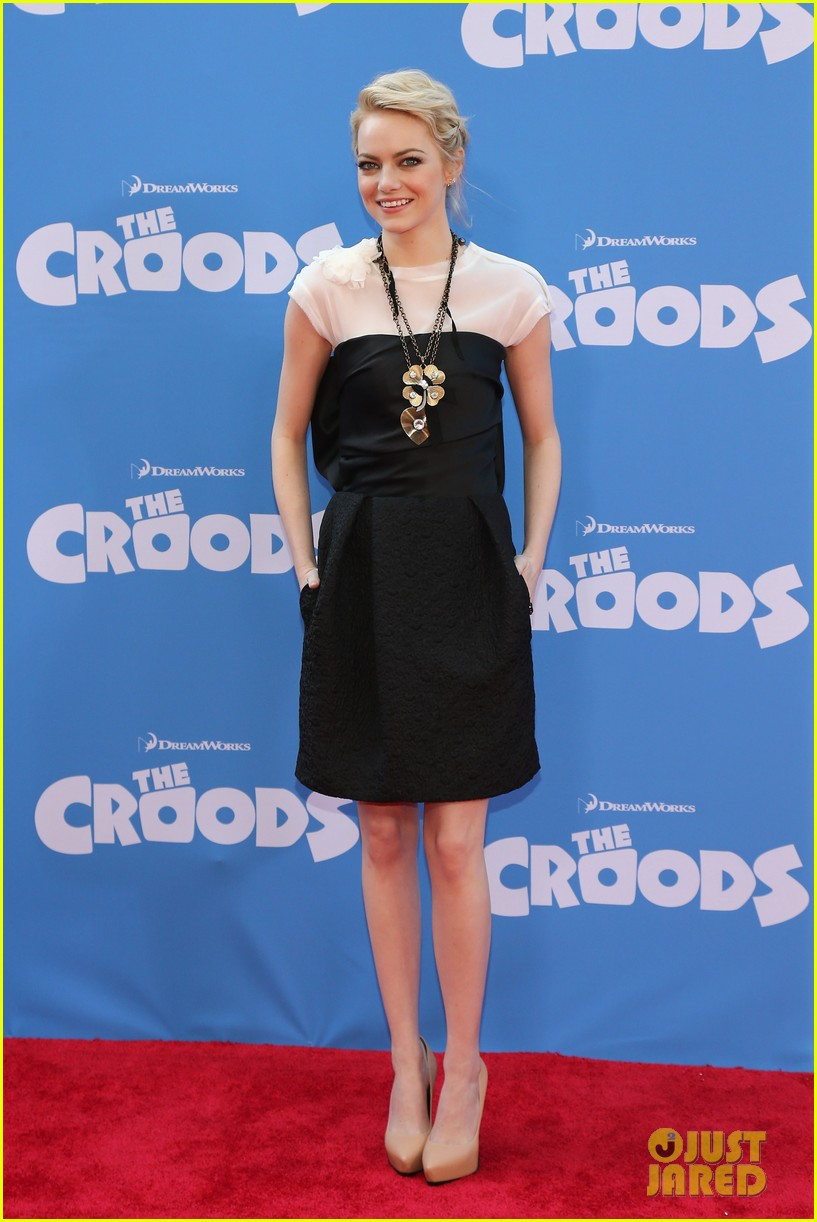 emma stone the croods premeire 072828311