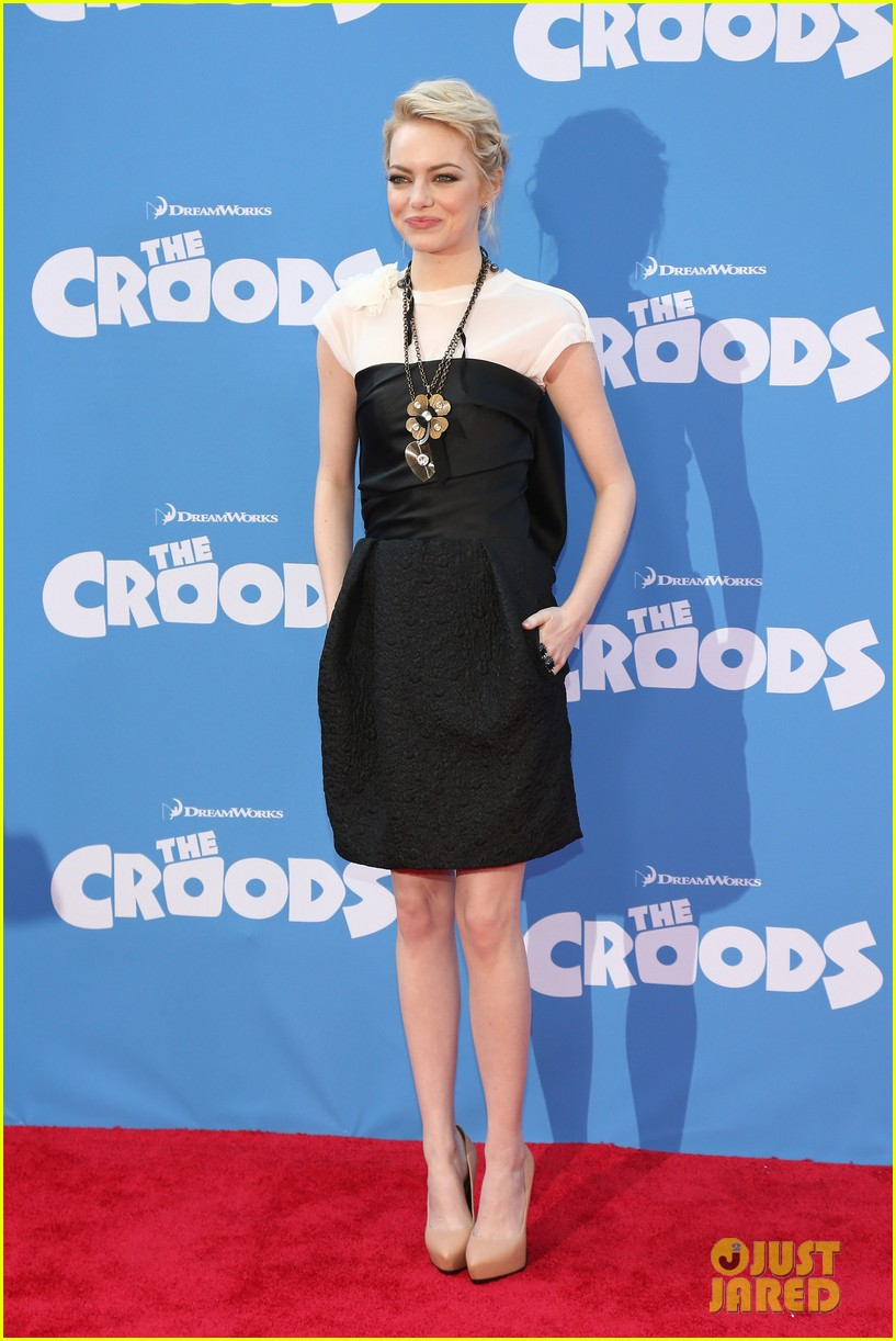 emma stone the croods premeire 082828312