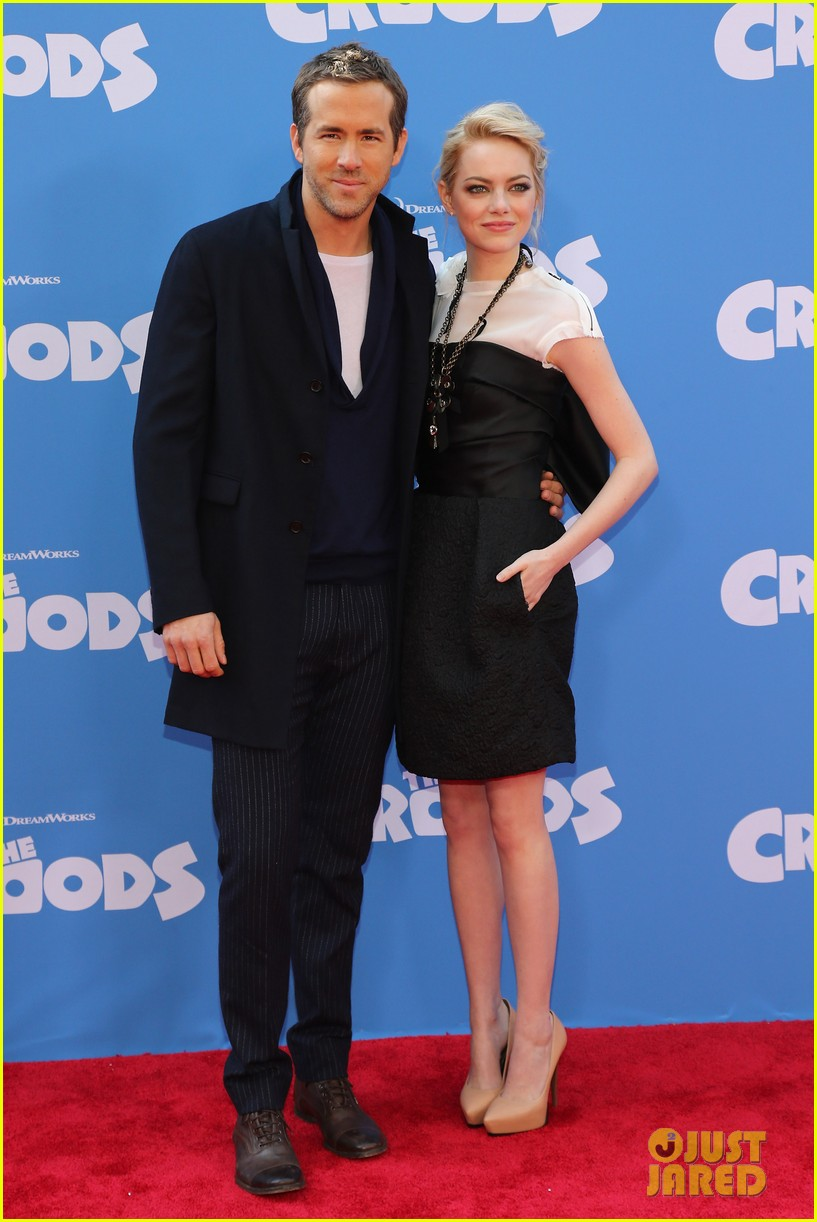 emma stone the croods premeire 112828315