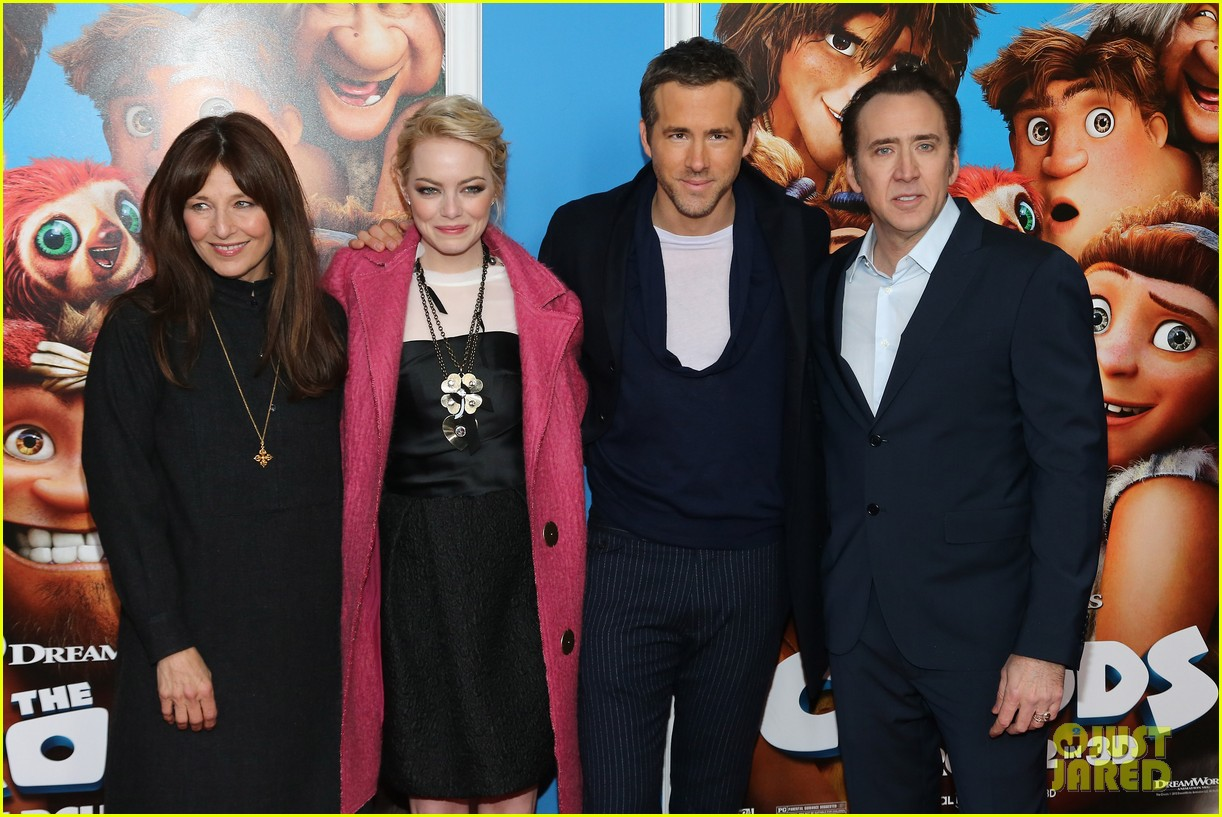 emma stone the croods premeire 162828320