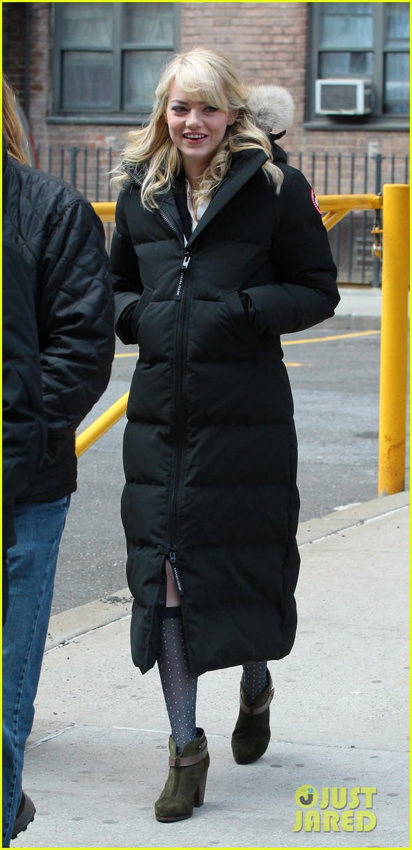 emma stone spider man 2 meatpacking 11