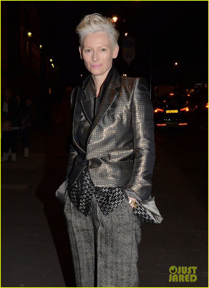 tilda swinton douglas booth david bowie exhibit 16