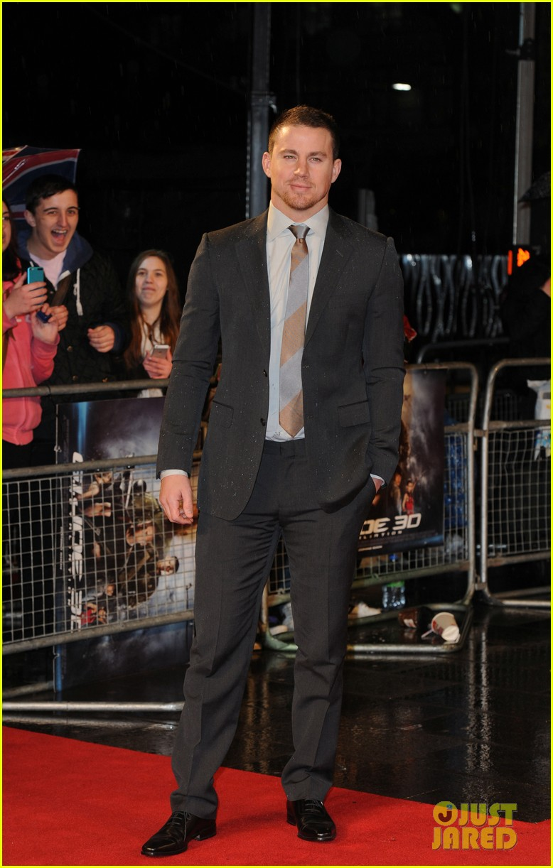channing tatum gi joe retaliation london premiere 18