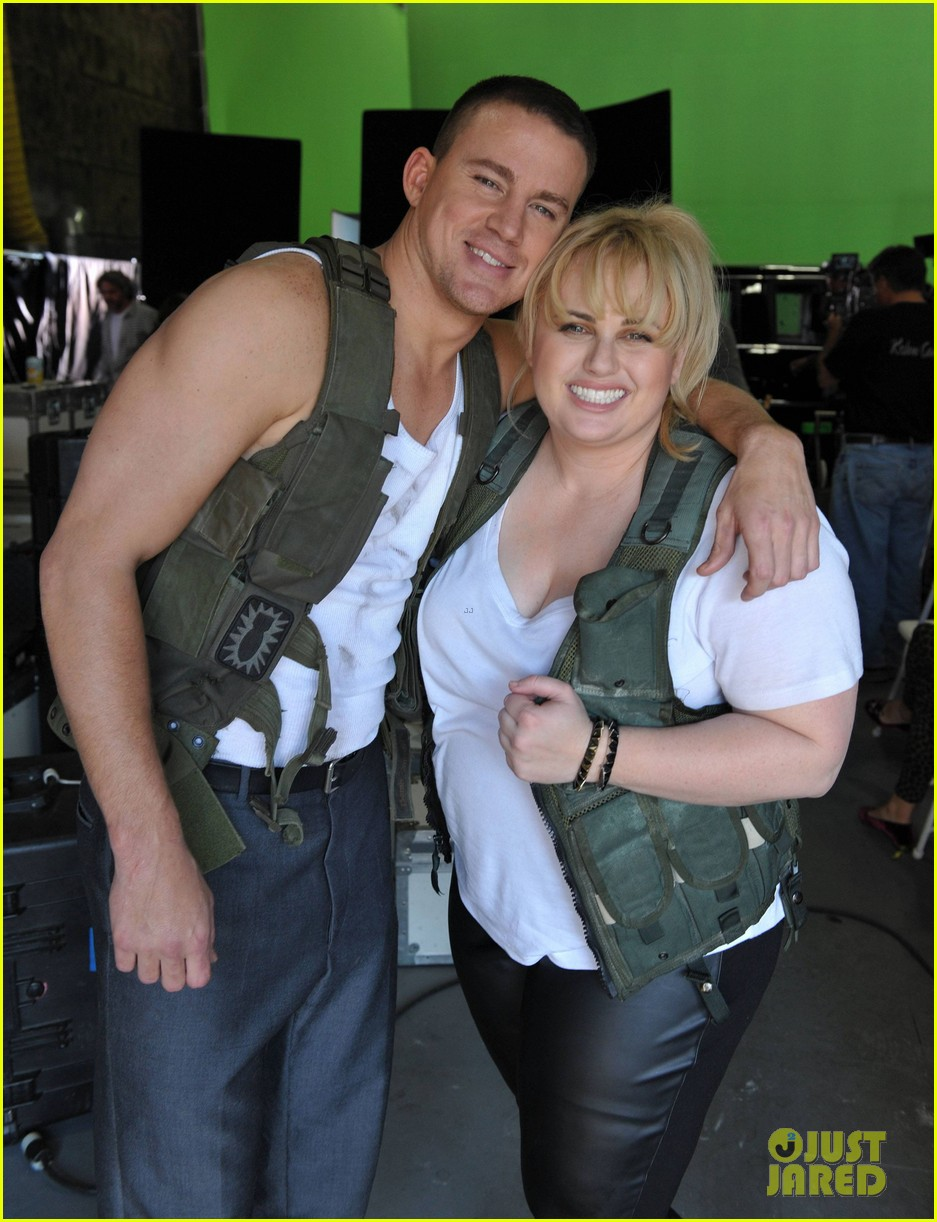 channing tatum rebel wilson mtv movie awards promo outakes video 022834605