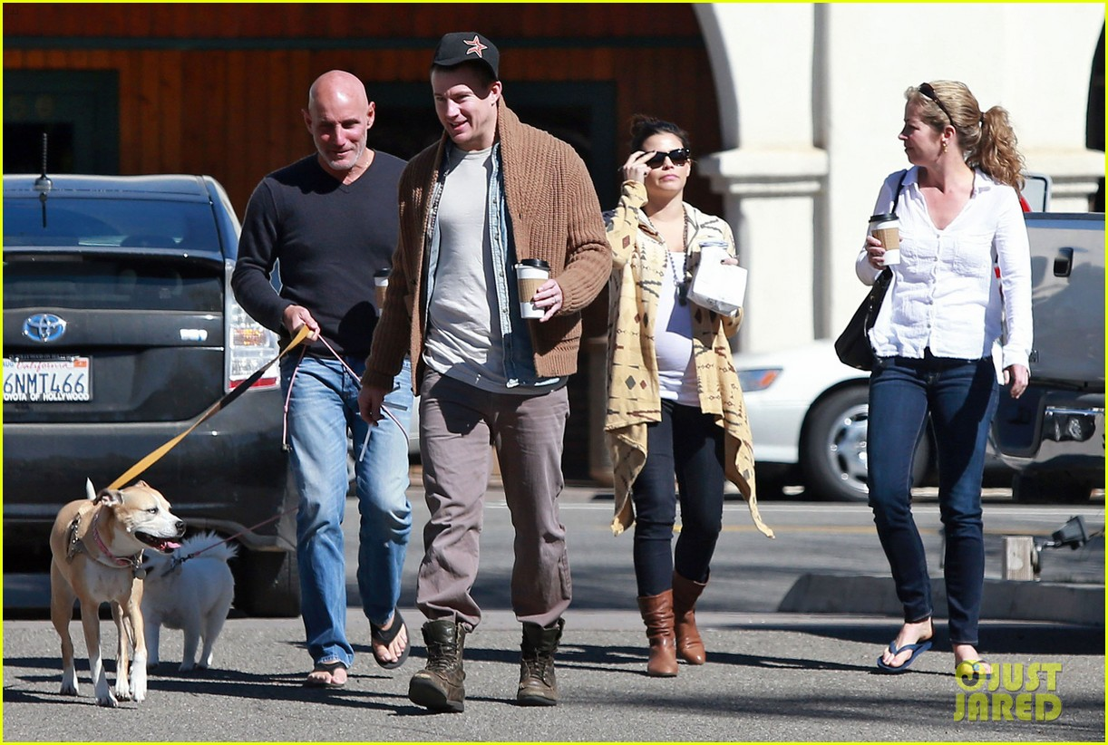 channing tatum jenna dewan lunch coffee date 012822749