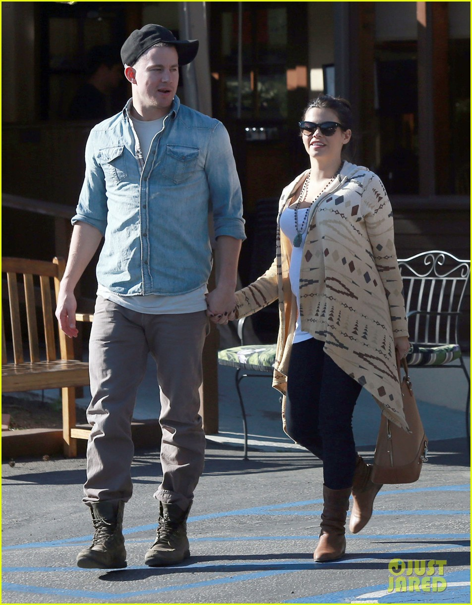 channing tatum jenna dewan lunch coffee date 052822753