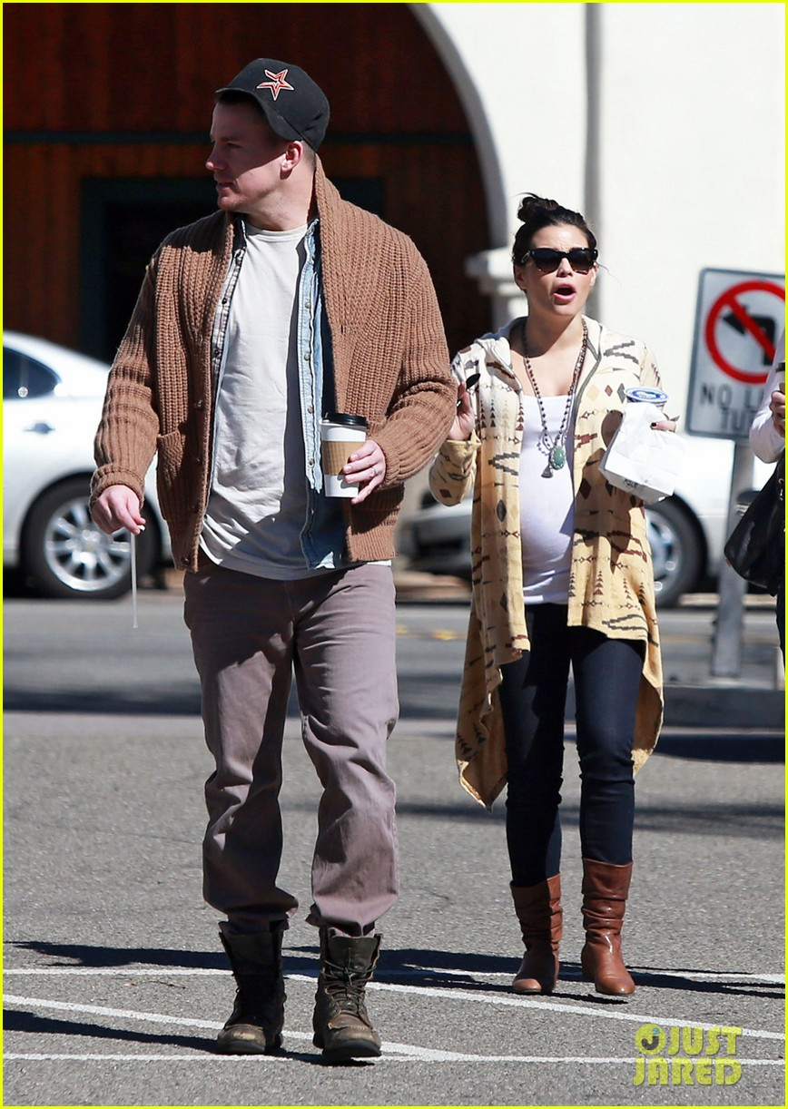 channing tatum jenna dewan lunch coffee date 09