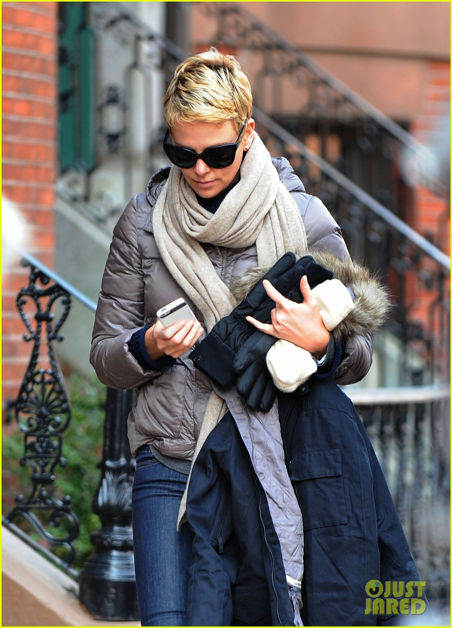 charlize theron checks in on hatfields mccoys 022833507