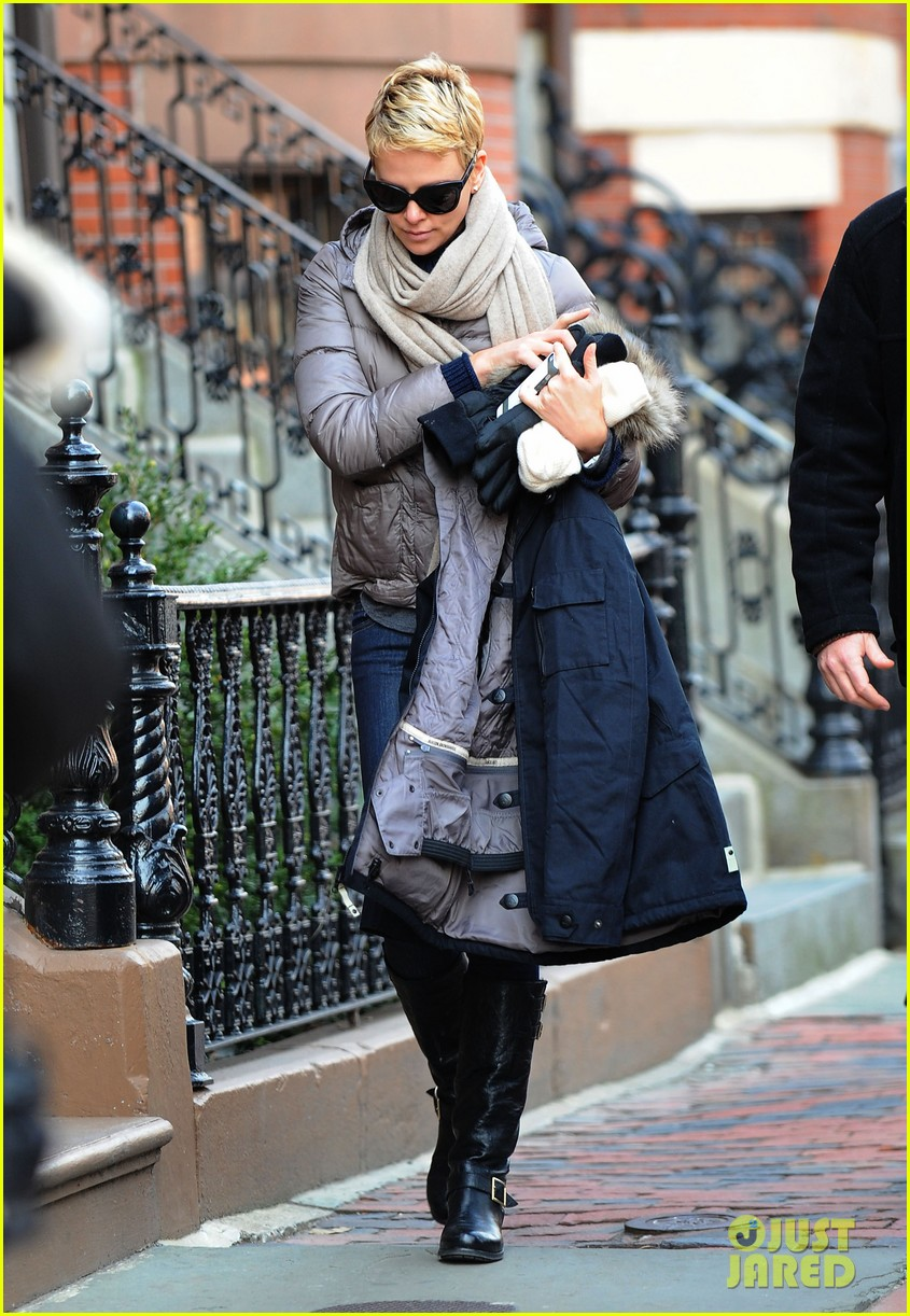 charlize theron checks in on hatfields mccoys 032833508
