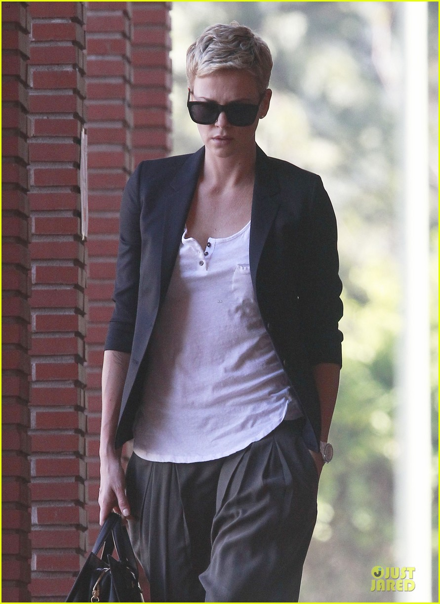 charlize theron disney studios meeting 142831347