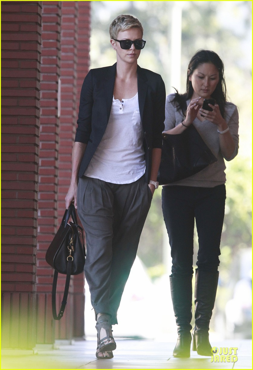 charlize theron disney studios meeting 17