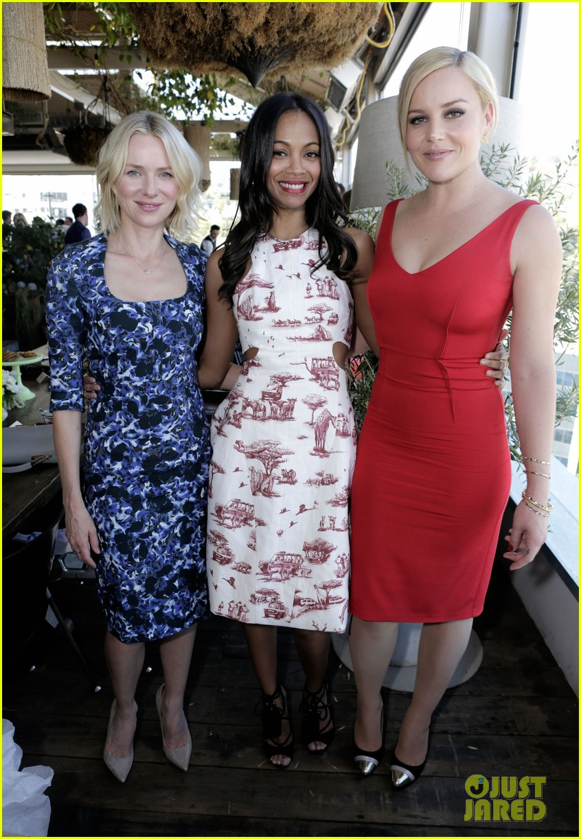 naomi watts zoe saldana stylists luncheon 052830080