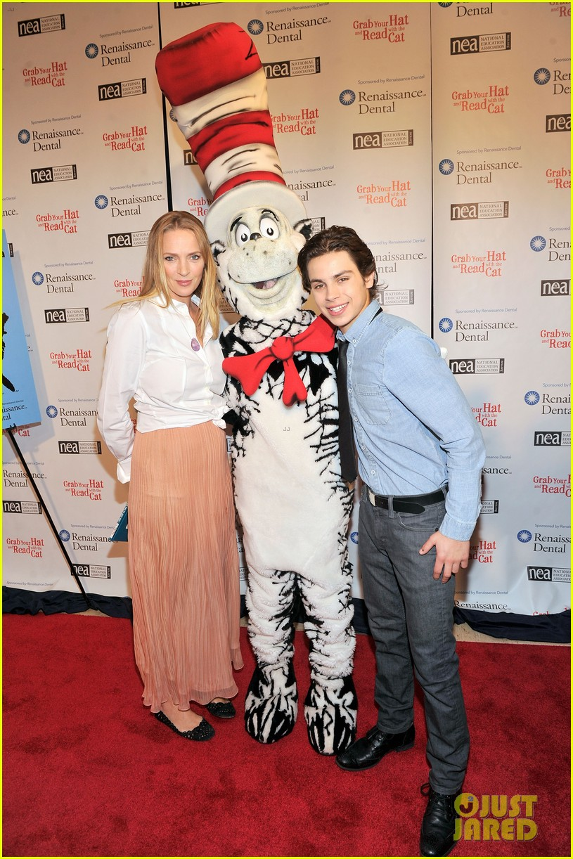 uma thurman cat in the hat for read across america day 132823508
