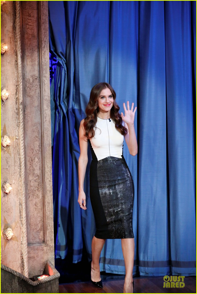 justin timberlake sexyback on fallon with allison williams 032829651