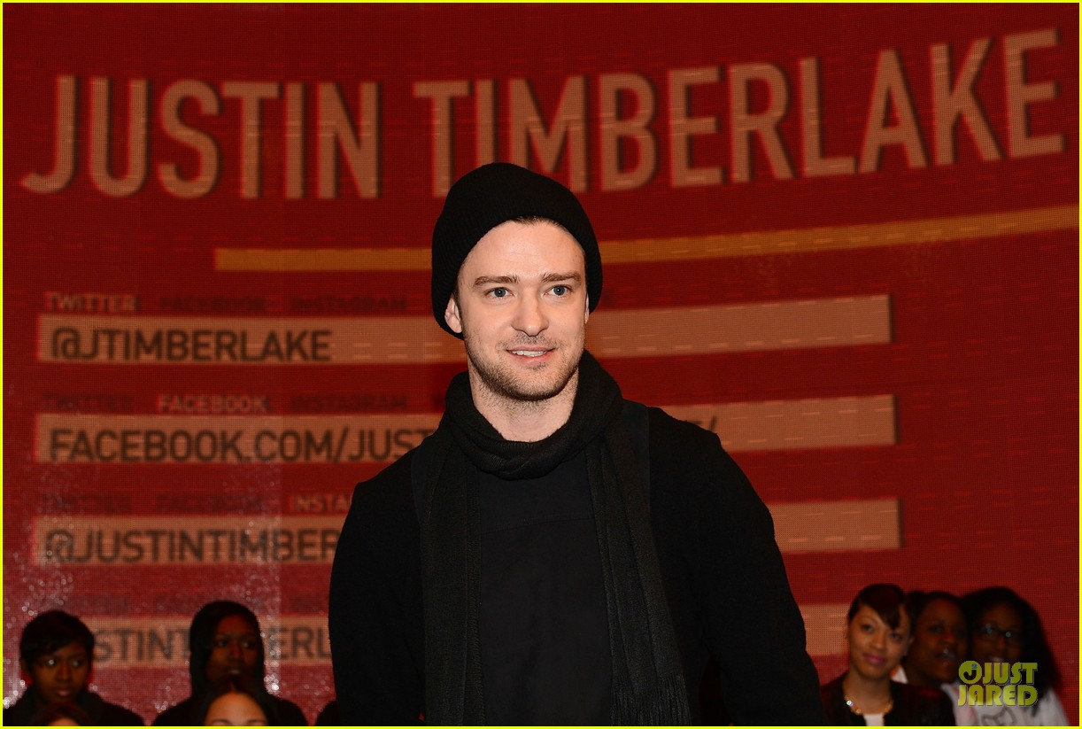 justin timberlake record release party airs on cw next week 08