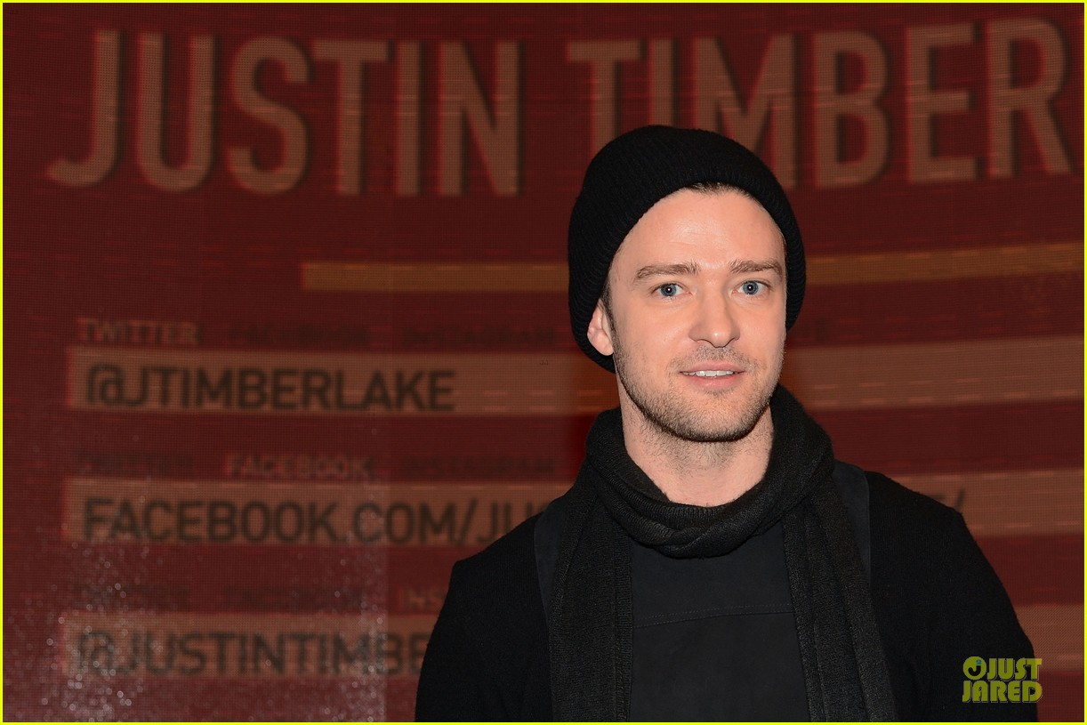 justin timberlake record release party airs on cw next week 11