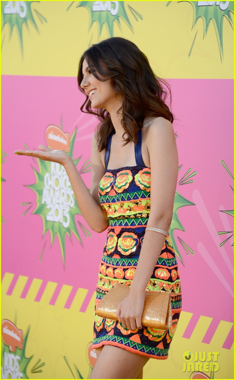 ashley tisdale victoria justice kids choice awards 2013 142836637