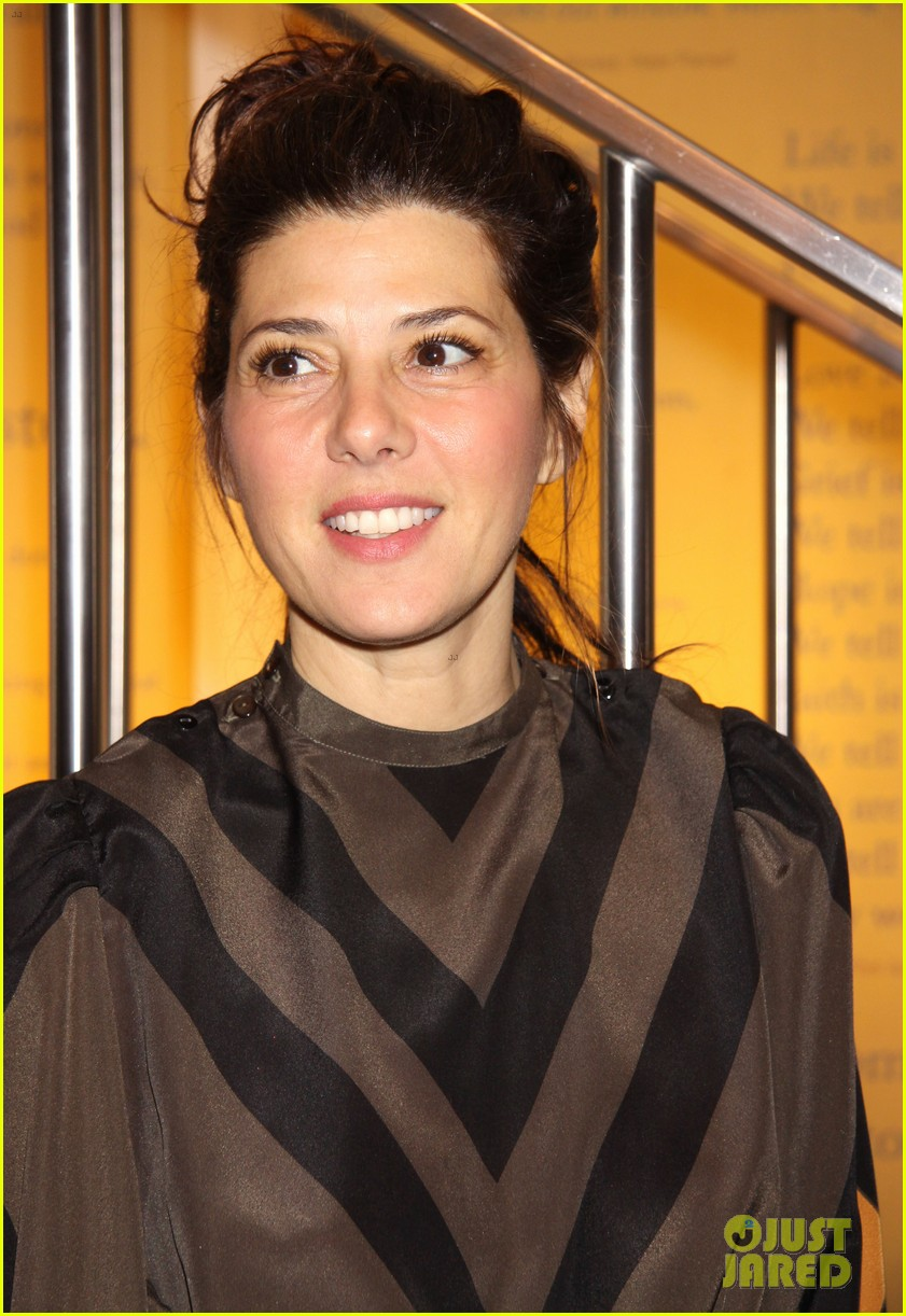 marisa tomei lily rabe the flick premiere 06