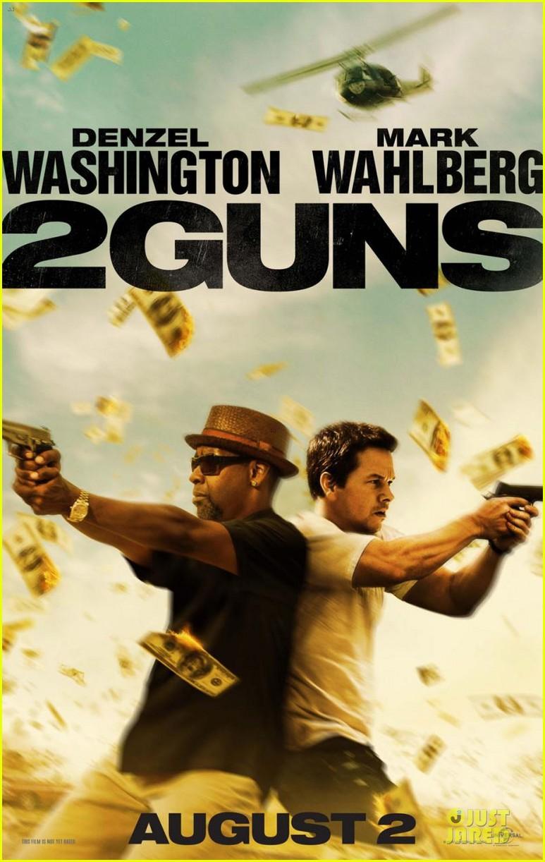 mark wahlberg 2 guns trailer poster 012840425