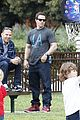 mark wahlberg coldwater canyon park with brendan 04