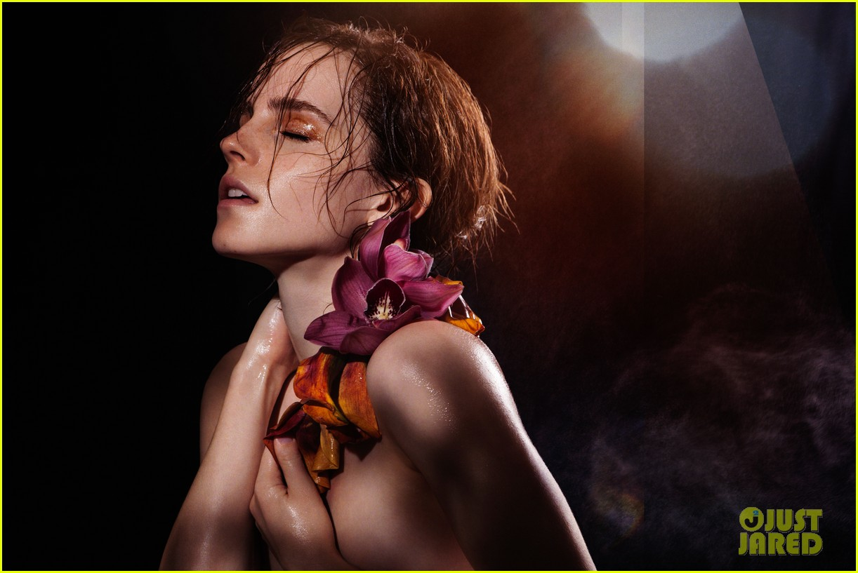 natural beauty watson topless Emma