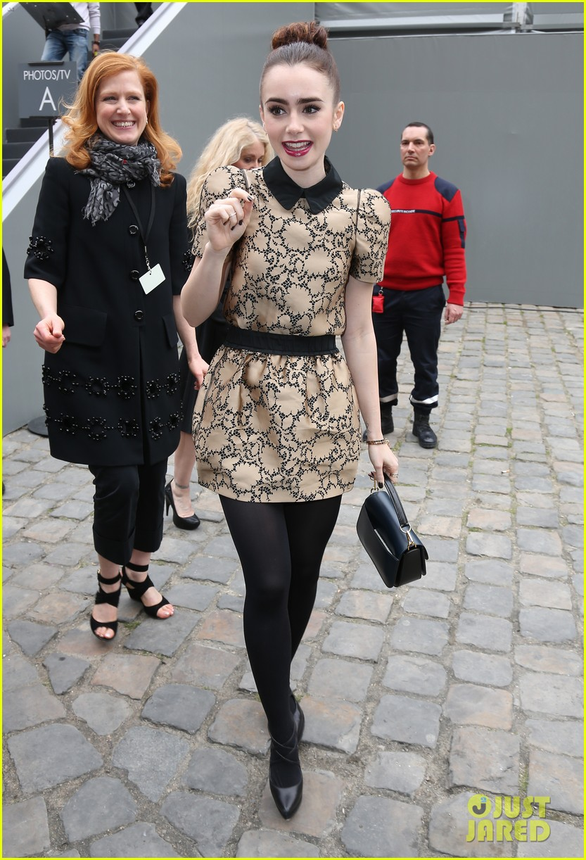 naomi watts jessica chastain louis vuitton fashion show 08