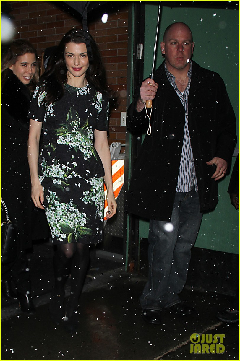 rachel weisz good morning america appearance 012827395