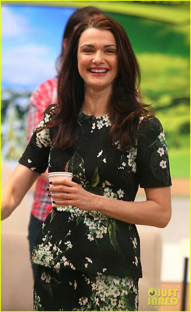 rachel weisz good morning america appearance 02