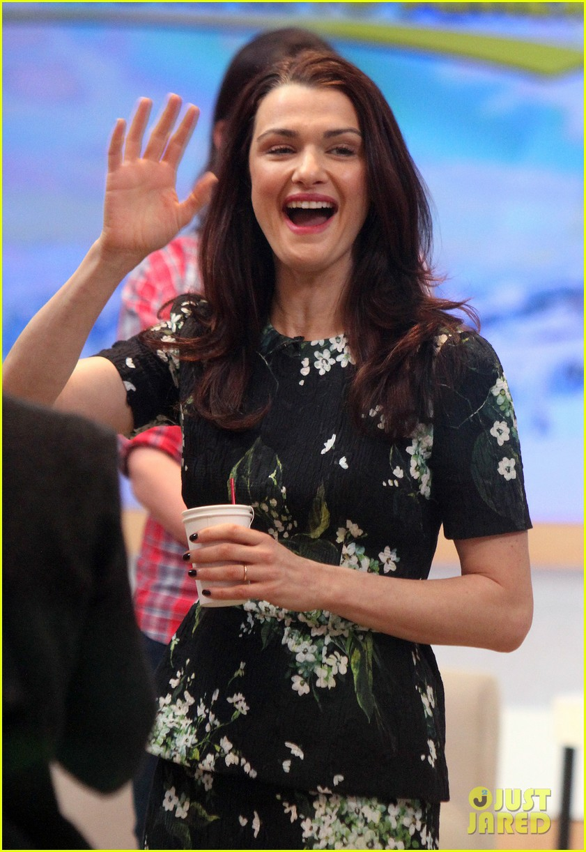 rachel weisz good morning america appearance 04