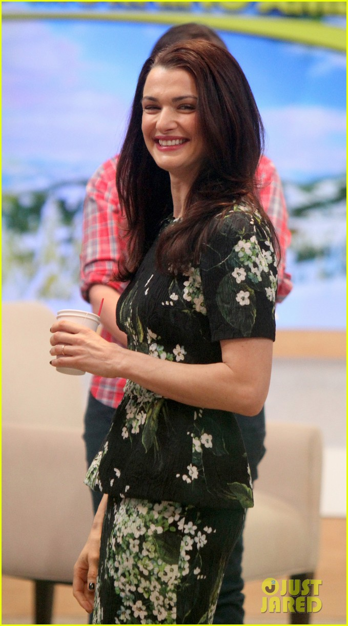 rachel weisz good morning america appearance 072827401