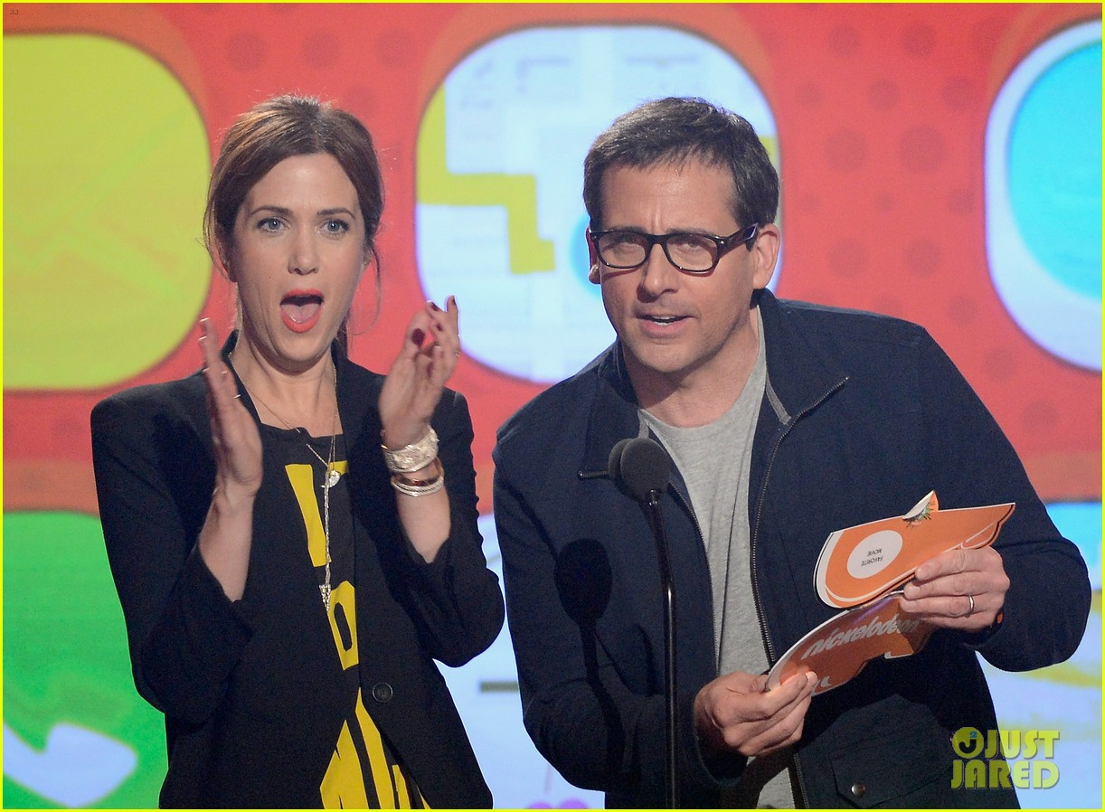 kristen wiig steve carell kids choice awards 2013 10