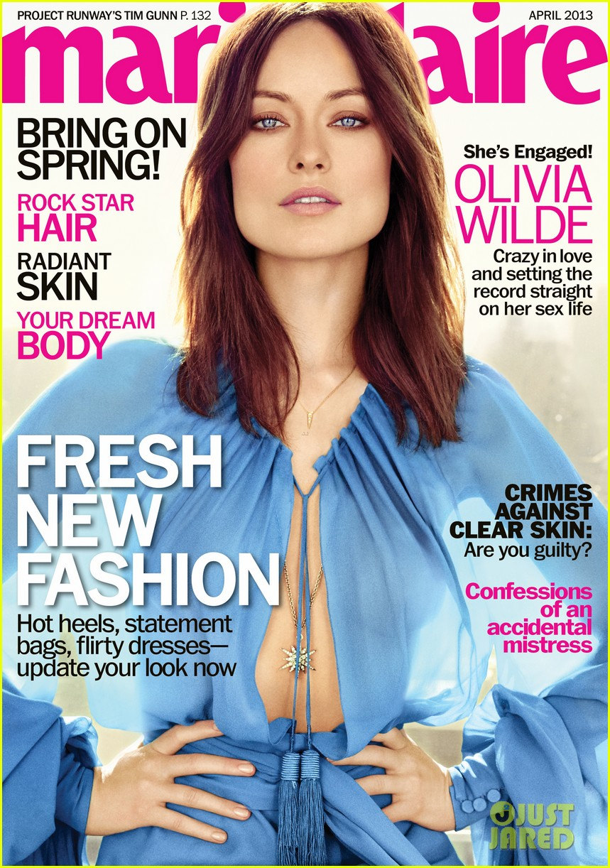 olivia wilde covers marie claire april 2013 012828830