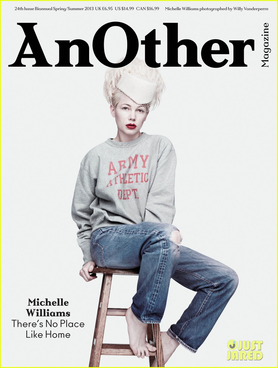 michelle williams covers another spring summer 2013 01