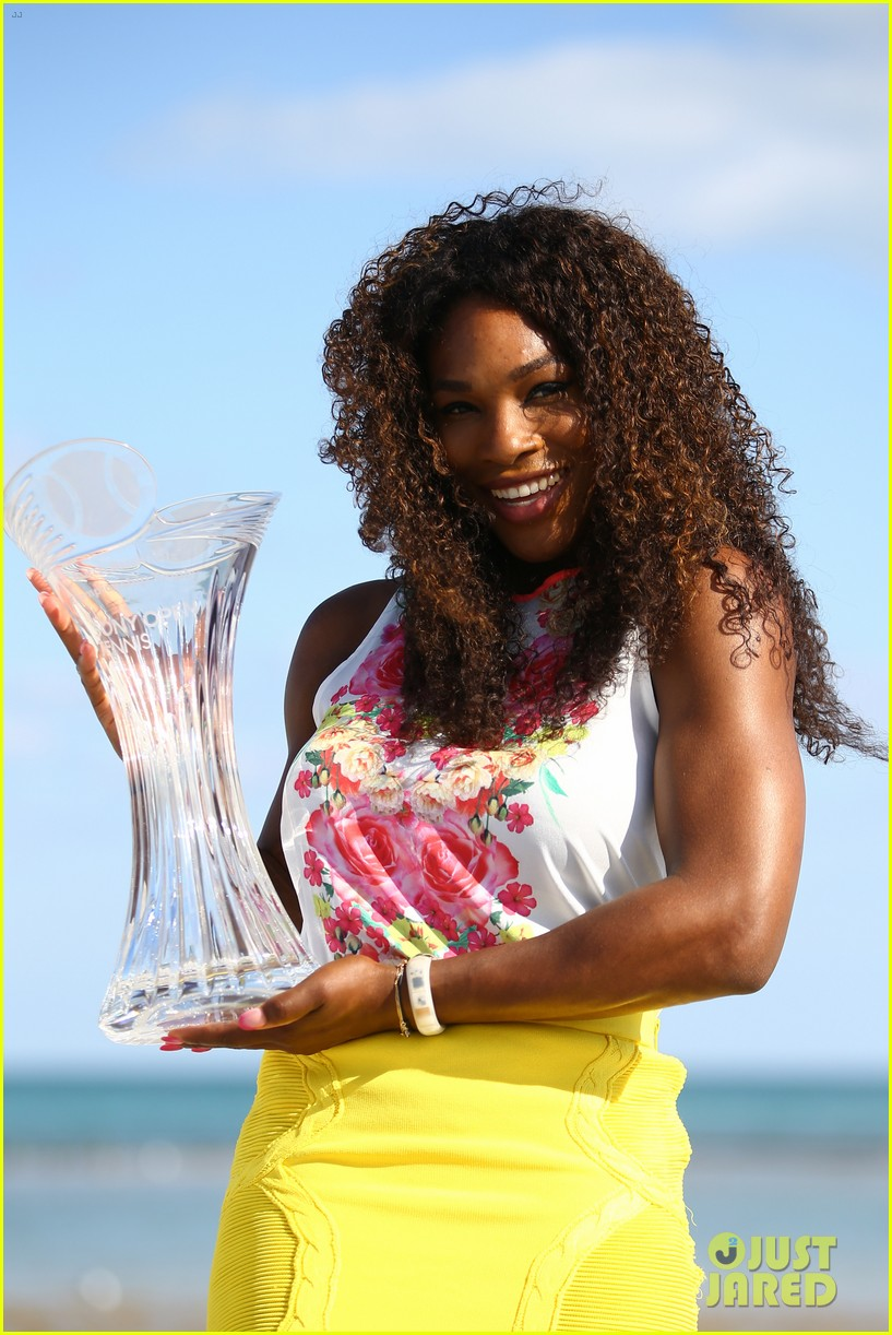 serena williams sony open victory portraits 022840670