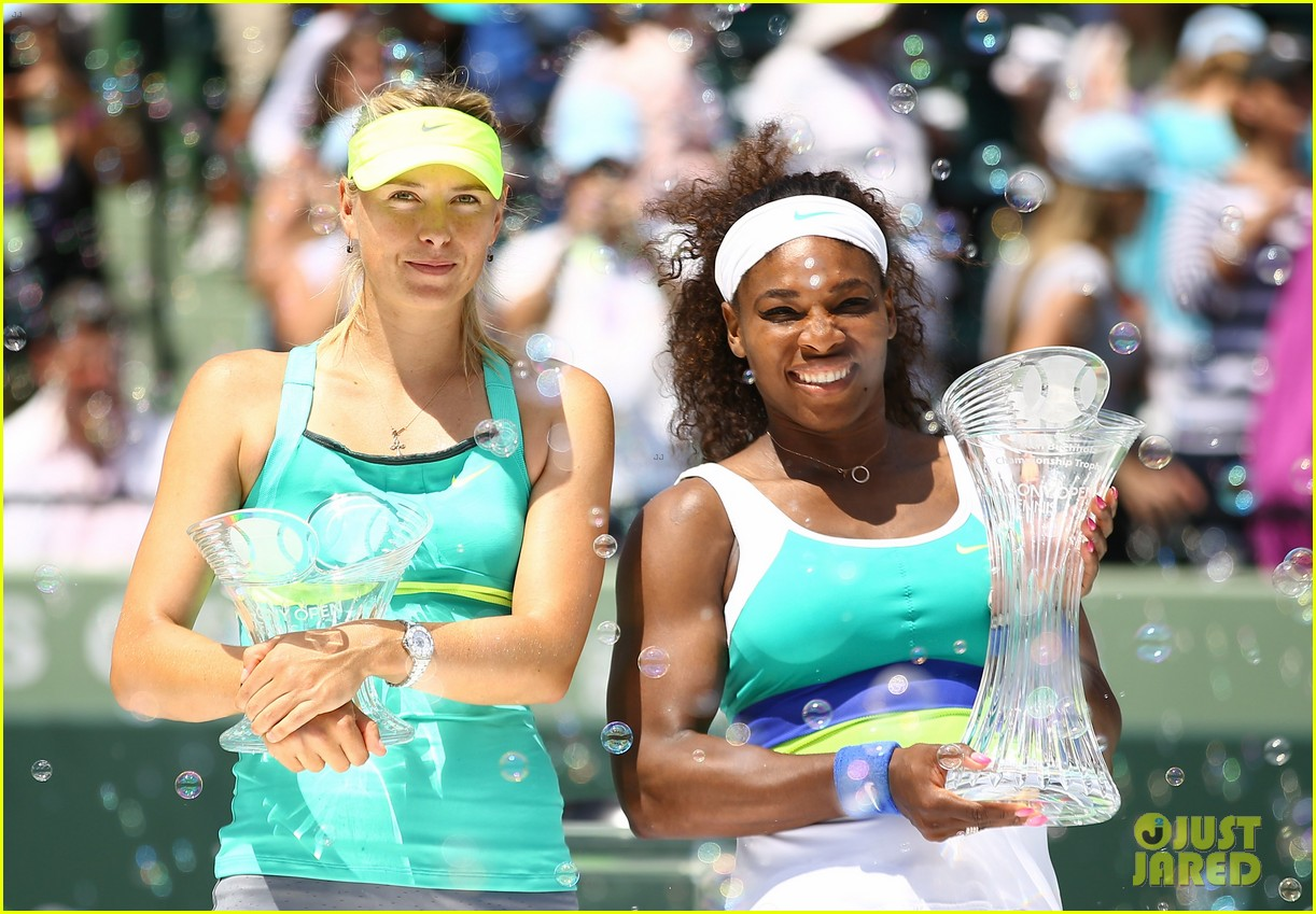 serena williams sony open victory portraits 04