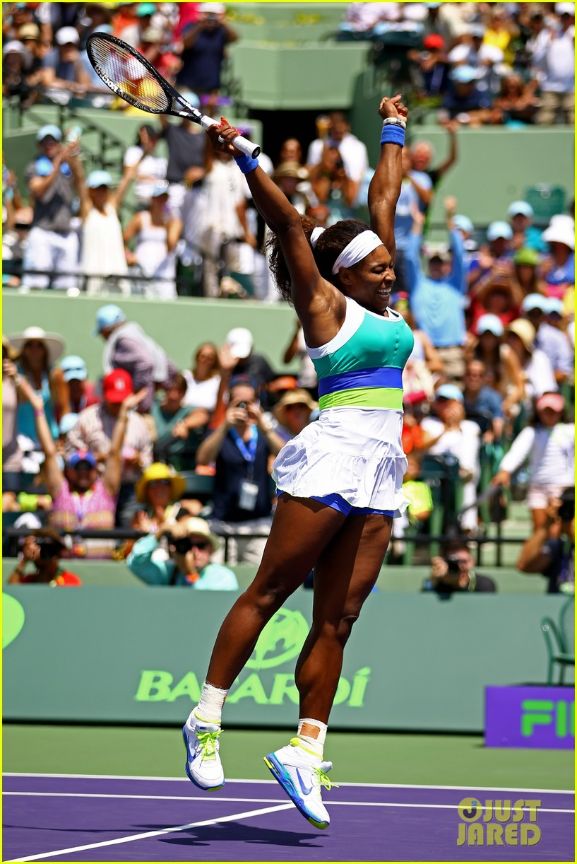serena williams sony open victory portraits 07
