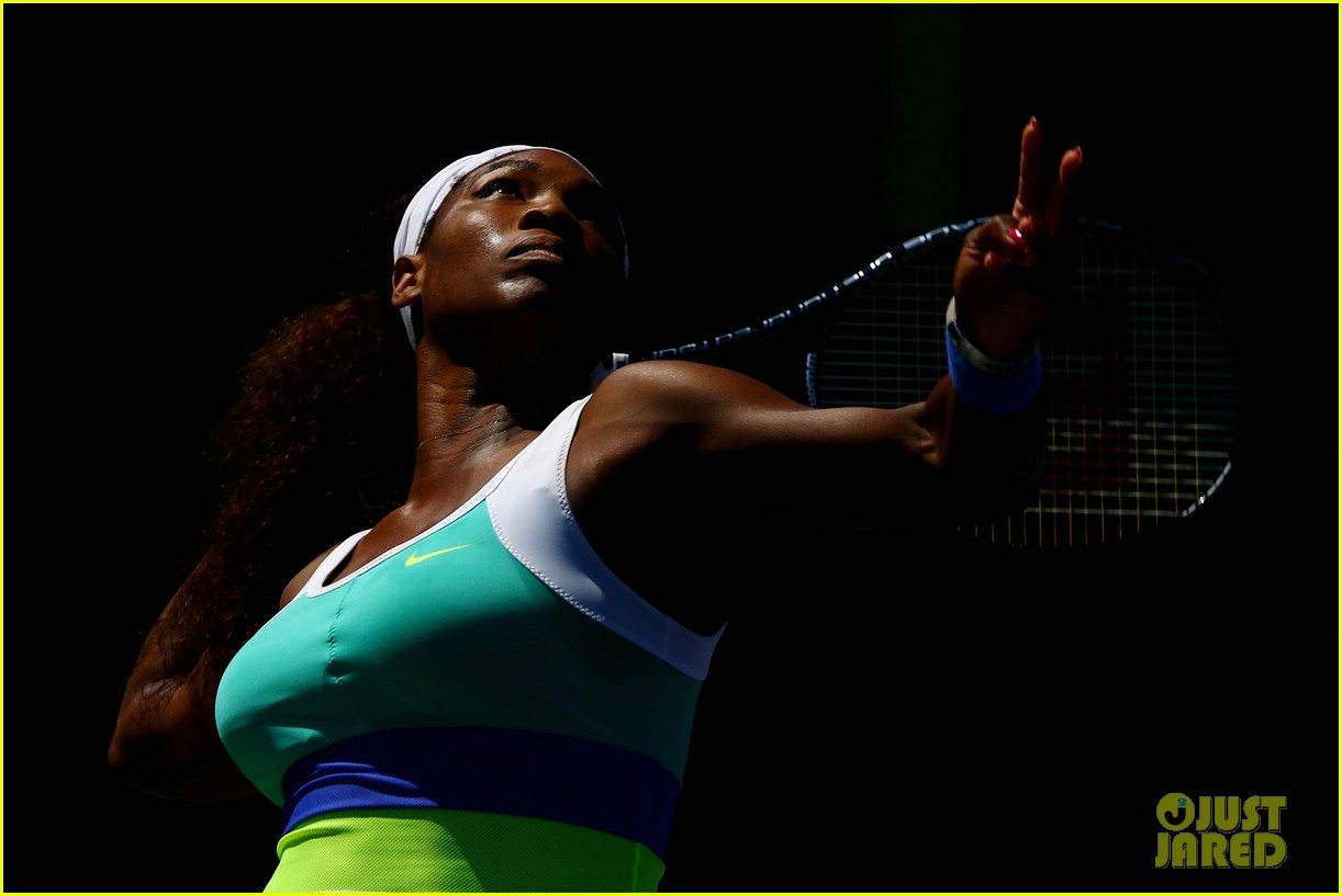 serena williams sony open victory portraits 10