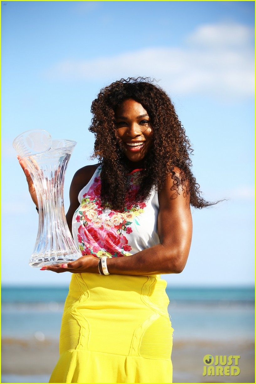 serena williams sony open victory portraits 242840692