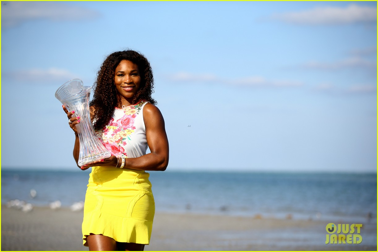 serena williams sony open victory portraits 26