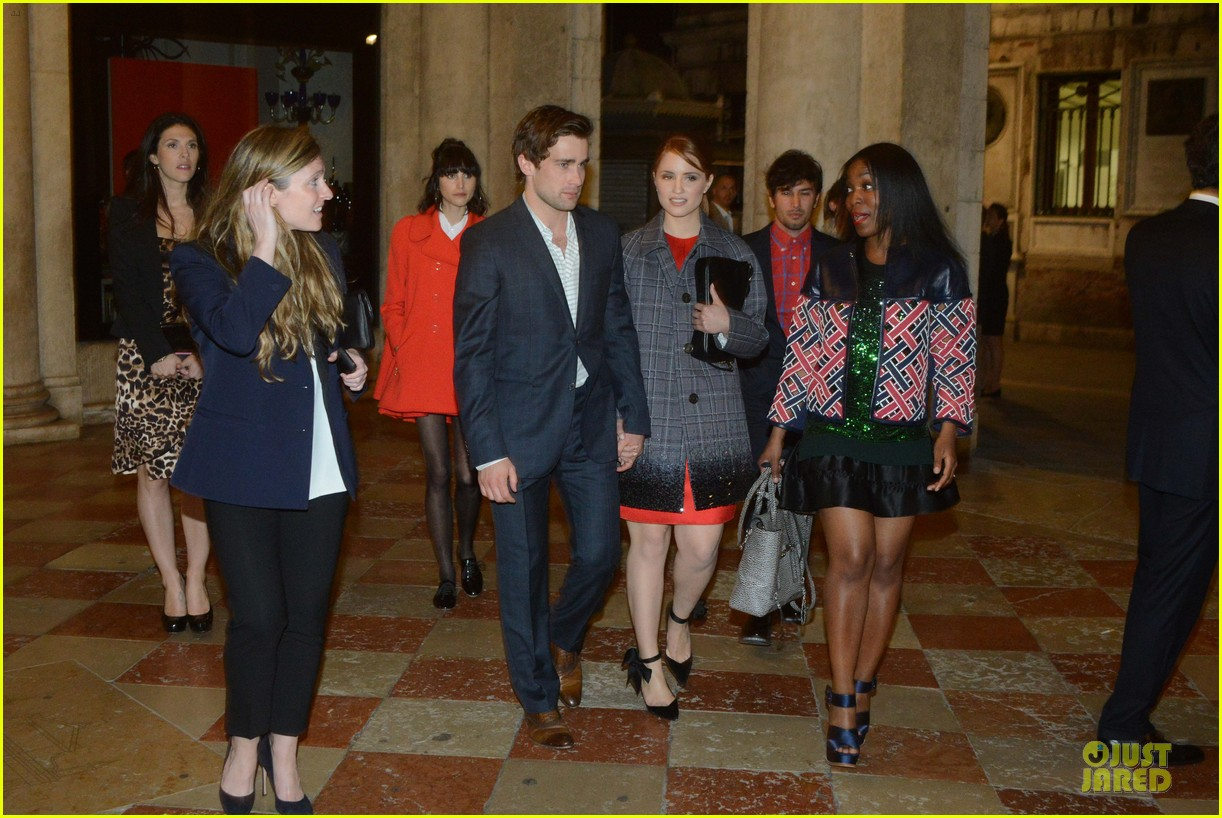 dianna agron christian cooke louis vuitton store opening 03