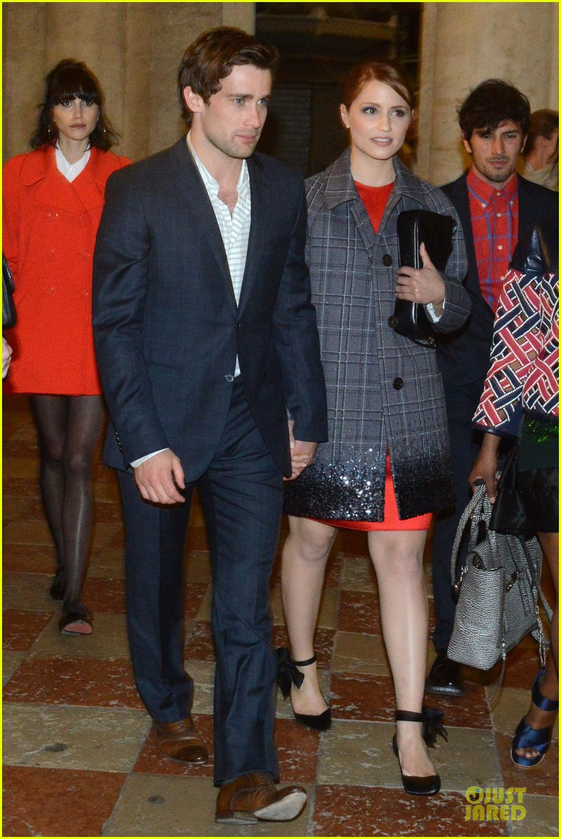 dianna agron christian cooke louis vuitton store opening 132854064