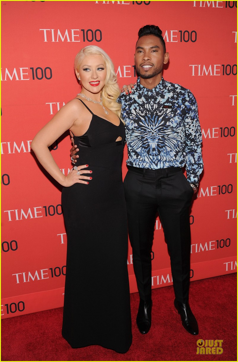 christina aguilera miguel time 100 gala 2013 red carpet 082856851