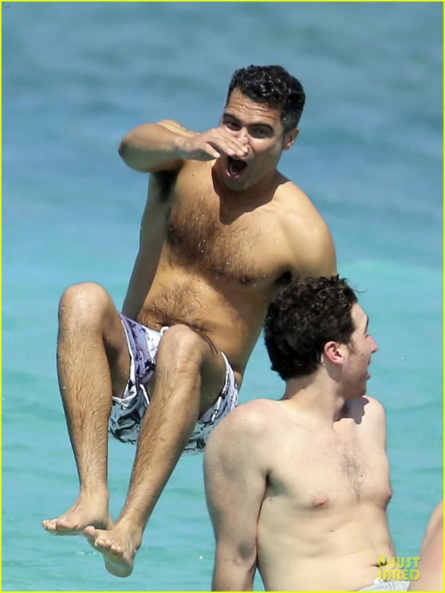 jessica alba st barts bikini babe with shirtless cash warren 282844147
