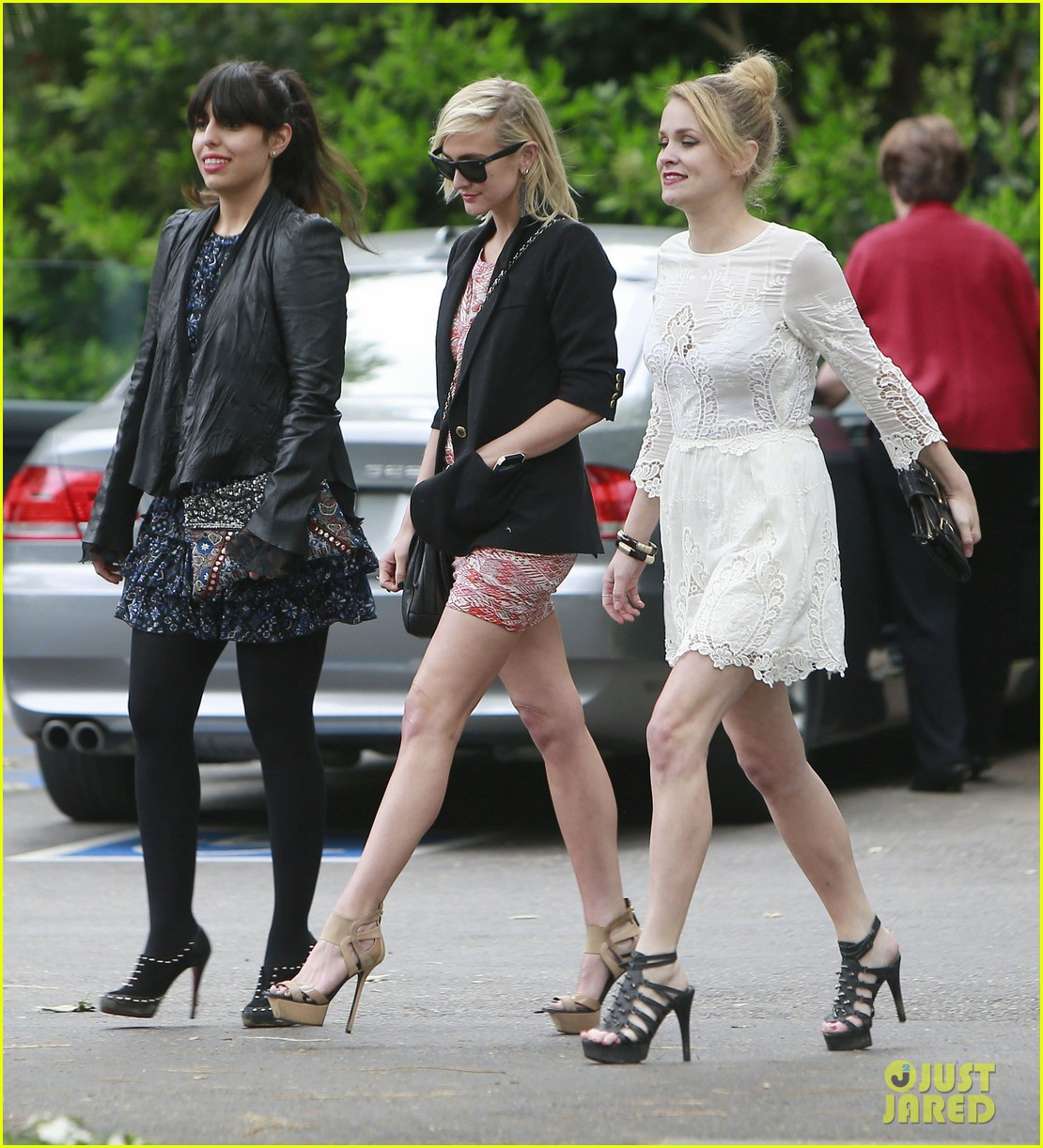 Ashlee Simpson Jessica Alba Jessica Simpsons Baby Shower Photo
