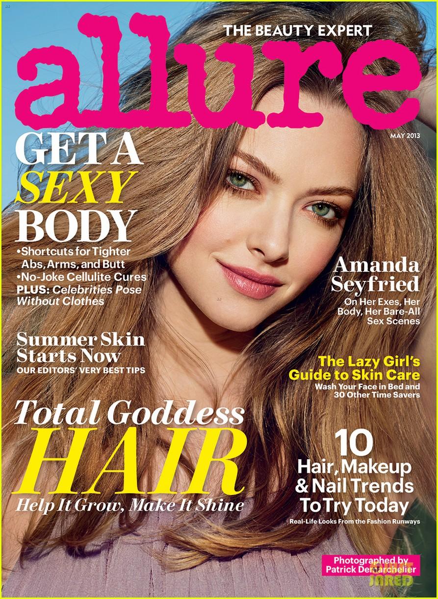 amanda seyfried covers allure magazine nude issue 032851106