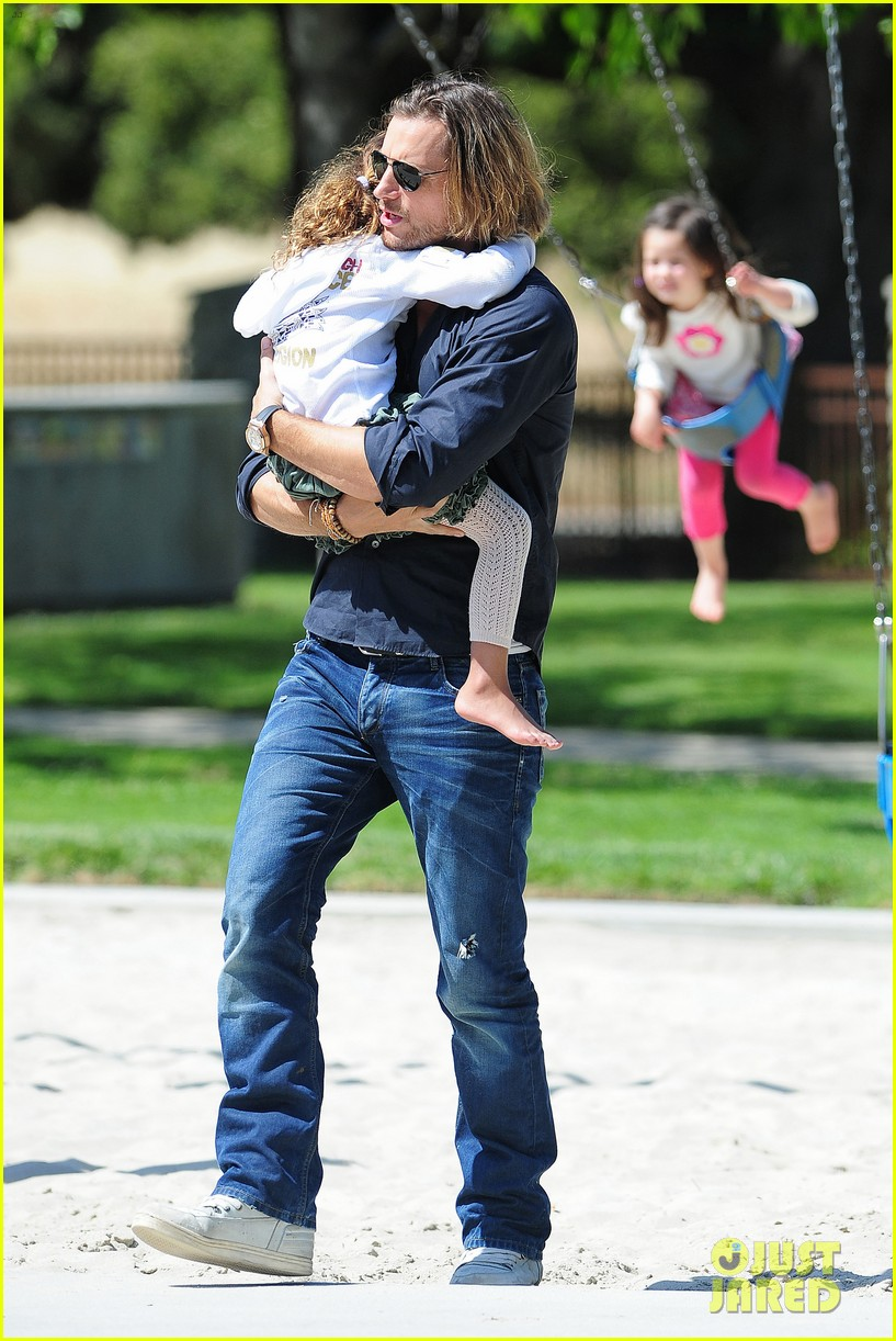 gabriel aubry park playtime with nahla 162858350