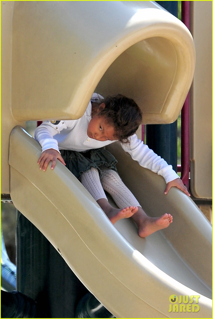 gabriel aubry park playtime with nahla 17