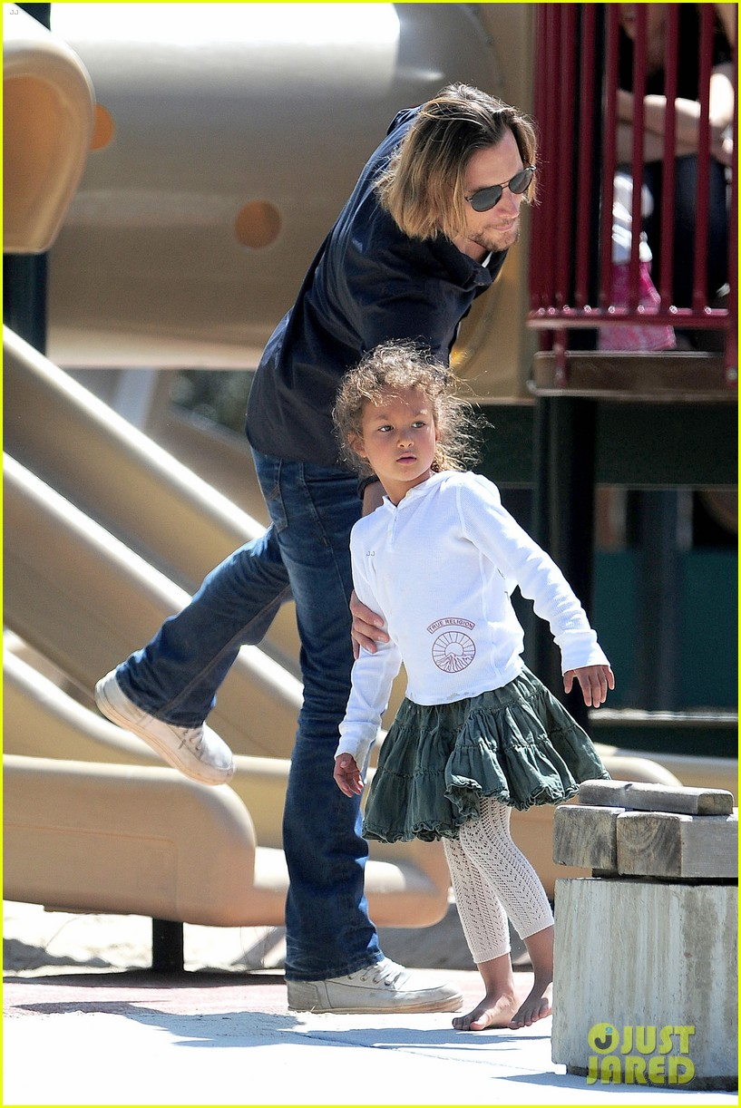 gabriel aubry park playtime with nahla 192858353